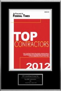 2012 Federal Times Top Contractors