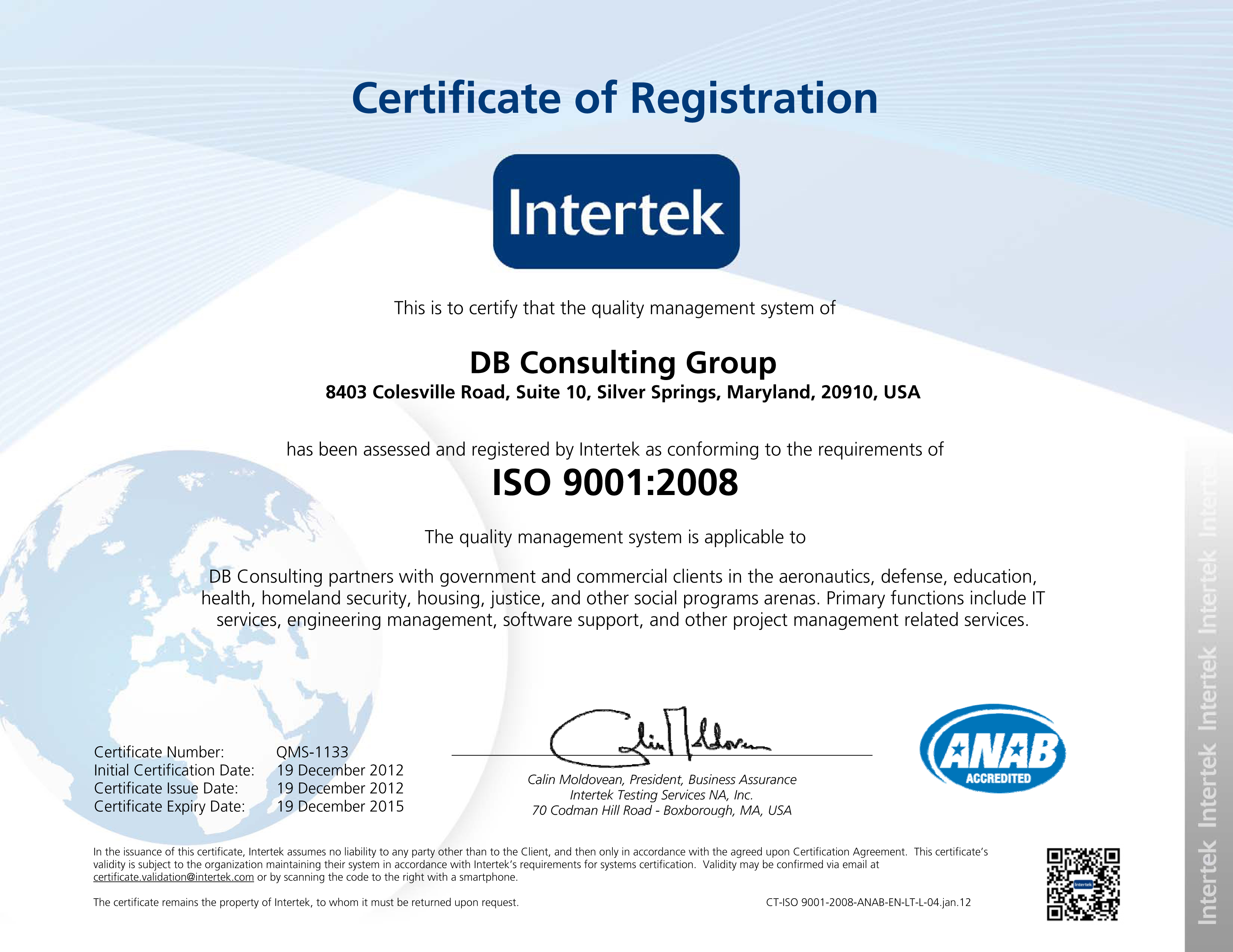 nasa employee certificate - photo #1