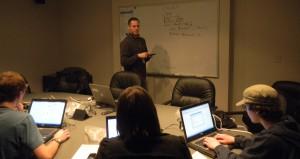 Joshua Glemza teaching Exploring Project Computer Technology Post 631